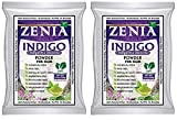#3: Zenia Indigo Powder (Indigofera Tinctoria) Hair/Beard Dye Color 100 grams (Pack Of 2)