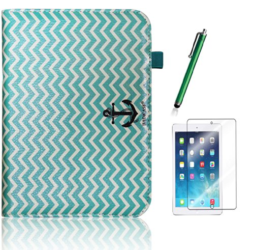 kindle-fire-hd-70-2012-anchor-chevron-infinity-love-tribal-turquoise-teal-and-beige-tribal-indian-lo