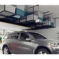 FLEXIMOUNTS 4x8 Overhead Garage Storage Rack Adjustable...