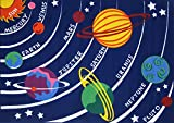 Fun Time-Solar System FT-170 3147 31x47 Inch Childrens Area Rug