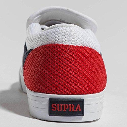 Supra Cuba Sneaker Bianco-bianco