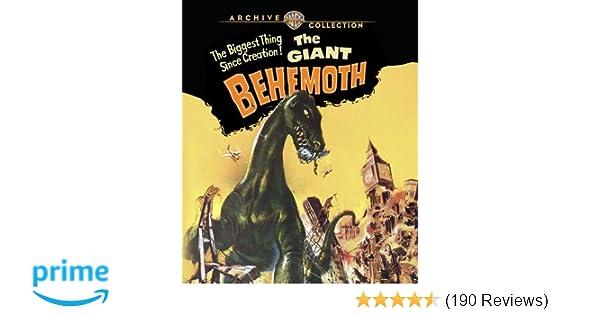 Amazon com: The Giant Behemoth (1959) [Blu-ray]: Gene Evans, André