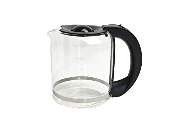 883eeb0d6970c3 Domo Verseuse en verre, Verseuse de rechange universel pour les machines à  café et do417kt