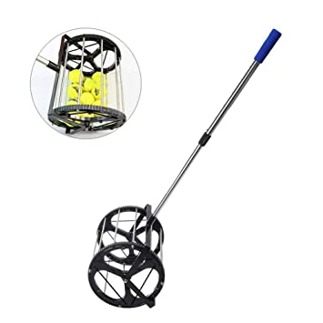 PONED Rodillo para Pelotas de Tenis con Capacidad para 55 Pelotas ...