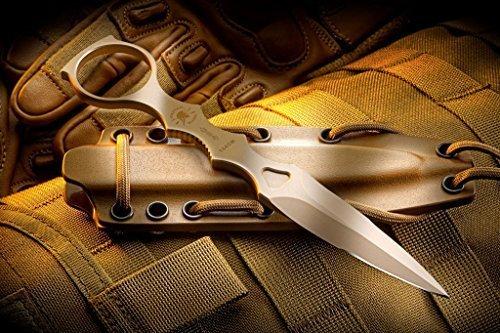 Spear Point Sheath Kydex (Spartan Blades CQB Tool Fixed Blade Fighting Knife Kydex Sheath)