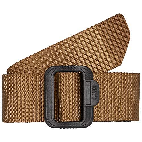5.11 Tactical Men's 1.75-Inch TDU Work Belt, Non-Metallic Buckle, Fade-Resistant Panel, Style 59552