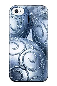 Durable Case For The Iphone 4/4s- Eco-friendly Retail Packaging(christmas1)