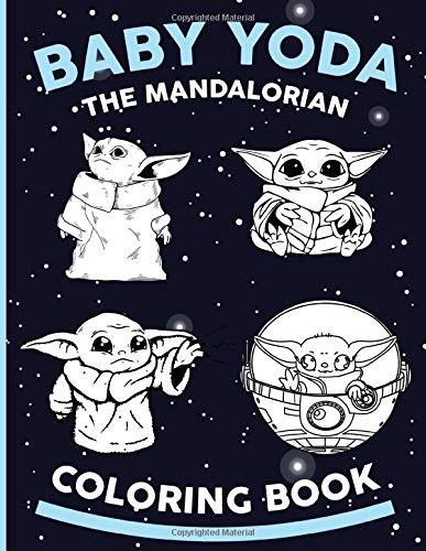 Baby Yoda Coloring Book Beautiful Simple Designs Baby Yoda Coloring Books For Adults Boys Girls Amazon De Reid Matteo Fremdsprachige Bucher