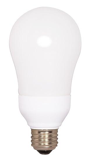 Satco S7291 15 Watt Medium Base A Type Bulb, 2700K, 120V,
