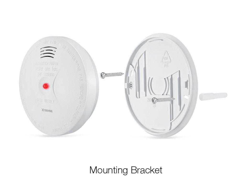 X-Sense Detector de Humo y Monóxido de Carbono CO, y Alarma Contra Incendio con Sensor Fotoeléctrico Alimentado por Batería; Reinicio Automático: Amazon.es: ...