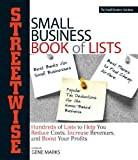Streetwise Small Business Book of Lists, Gene Marks, 1593376847