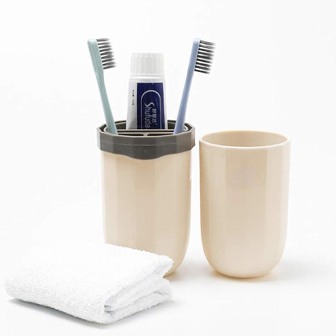煩わしい処方拷問珪藻土 歯ブラシスタンド 歯ブラシ立て toothbrush stand グレー 11.5cm×6cm