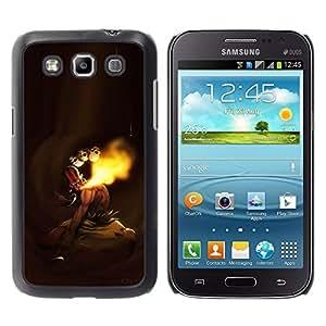 LECELL--Funda protectora / Cubierta / Piel For Samsung Galaxy Win I8550 -- MK indio de combate --