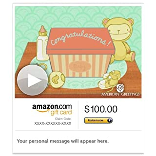 Amazon Gift Card - E-mail - Baby Lights Your World (Animated) [American Greetings] (B00BWDHF66) | Amazon price tracker / tracking, Amazon price history charts, Amazon price watches, Amazon price drop alerts
