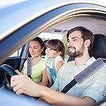4 Pack Faux Sheepskin Car Seat Belt Pads Seatbelt Protector Soft Comfort Seat Belt Shoulder Strap Covers Harness Pads…