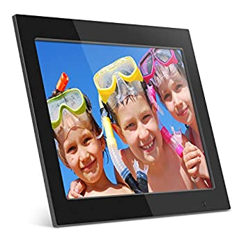 Image of Digital Picture Frames Aluratek (ADMPF315F) 15 Inch Digital Photo Frame - Black