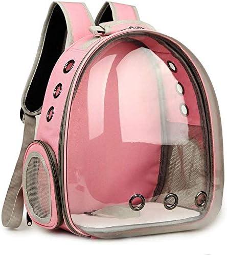 bolsa de viaje transpirable port/átil para perro gato mochila de lona para mascotas mochila de burbujas aprobada por aerol/íneas cachorro Mochila de gran espacio para transportar mascotas