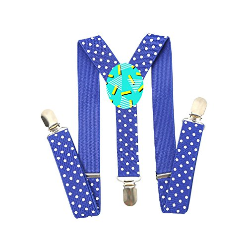 Price comparison product image Juicy Yang Watermelon Fashion Boys And Girls Adjustable Elastic One Inch Suspenders Suspenders