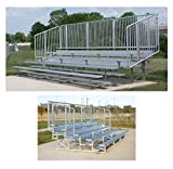 5-Row Vertical Picket Bleacher (15 ft.)