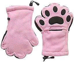 BearHands YF1000LPK Youth Large Fleece Mittens Light Pink