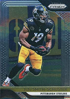 472ccfee7fd 2018 Panini Prizm Football #36 JuJu Smith-Schuster Pittsburgh Steelers  Official NFL Trading Card