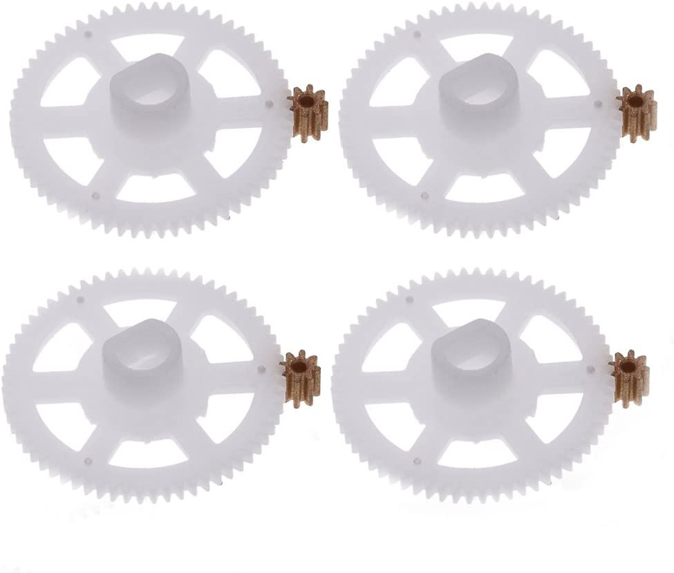 4Pcs Gear Parts for Wltoys JJRC V686G V686 RC Quadcopter Drone 4Pcs Motor