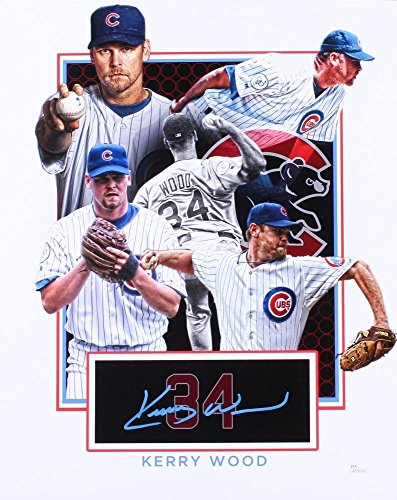 Autographed Kerry Wood Photo - 16X20 WITNESSED COA #WP286282 - JSA Certified - Autographed MLB Photos
