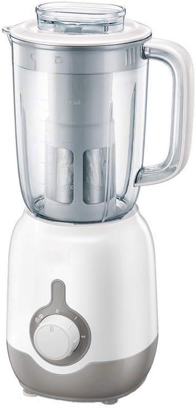 DLINMEI Exprimidor de la casa Máquina de Alimentos de Frutas pequeñas Máquina mezcladora eléctrica Exprimida Máquina de Leche de Soja Polvo de molienda multifunción Carne molida: Amazon.es