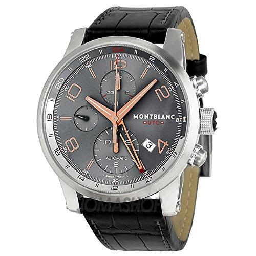 Montblanc Men's 107063 Timewalker Analog Display Swiss Automatic Brown Watch