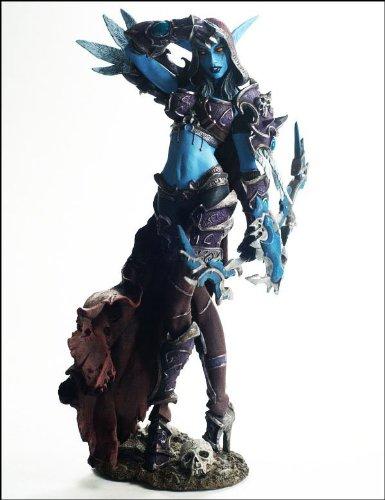 7.5' Action Figure (7.5'' World of Warcraft WOW DC6 Forsaken Queen Sylvanas Windrunner Figure,new in box)