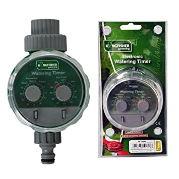 AUTOMATIC GARDEN IRRIGATION SYSTEM ELECTRONIC WATER TIMER  FITS HOZELOCK 2 DIALS Garden & Patio Garden Watering