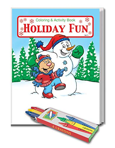 Amazon.com: 25 Pack - Holiday Fun - Kids Coloring and Activity Books ...