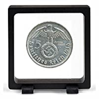IMPACTO Pièces de Monnaie Anciennes - Allemagne, 5 Marks allemands 1934. L'Argent du Troisième Reich