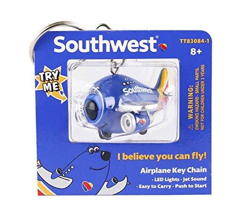 Southwest Airplane Keychain