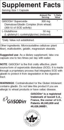 Amazon.com: Glisodin 300 mg 60 °Cápsulas: Health & Personal Care