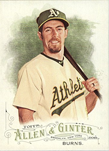 Collection Billy Childs (2016 Topps Allen and Ginter Baseball #173 Billy Burns Oakland Athletics)