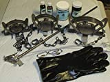 FPS 15 Piece Fox, Coyote, Raccoon Trapping Package kit Animal Control by Fox Pro Snares LLC.