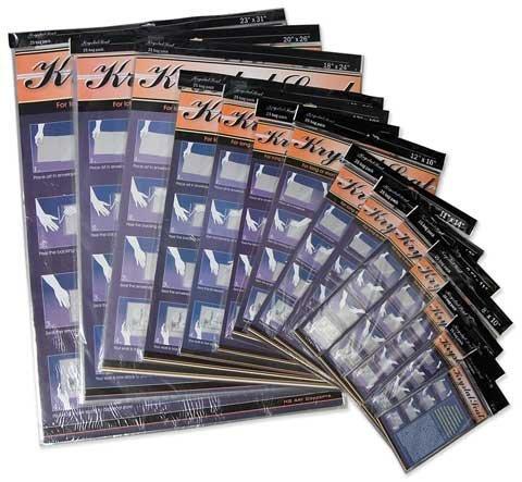 Krystal Seal KS1319 13 in. x 19 in. Seal Self-Healing Art Print and Photo Bags - Krystal Seal Bags