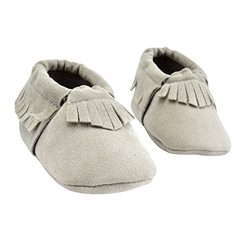 TRIEtree Children Shoes Scrub Fringed Baby Shoes Soft Soles Toddler Shoes Indoor Baby Shoes Newborn Gifts size 11cm ()