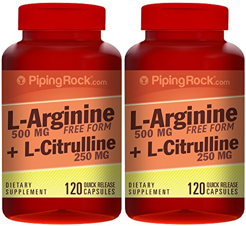 L-Arginine 500 mg & Citrulline