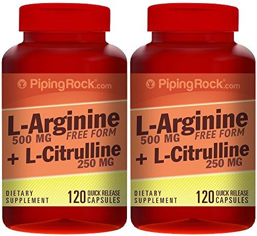 L-Arginine 500 mg & Citrulline 250 mg