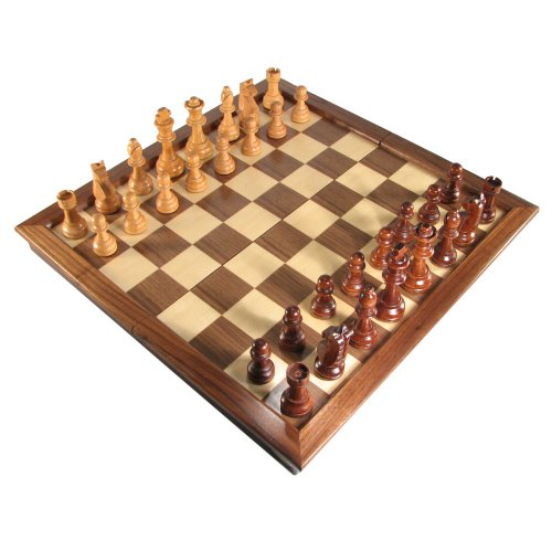 Deluxe Folding Chess Set - 18