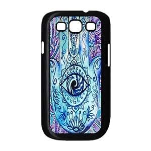Evil Eye Hamsa Custom Cover Case for Samsung Galaxy S3 I9300,diy phone case ygtg609750 by Maris's Diary