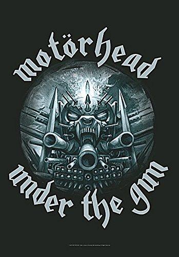 Motorhead Under The Gun large fabric poster / flag 1100mm x 750mm (hr)