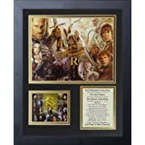 Legends Never Die The Lord of the Rings Trilogy Framed Photo Collage, 11 by 14-Inch