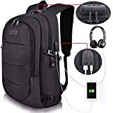 Tzowla Business Laptop Backpack Water Resistant Anti-Theft College Backpack with USB Charging Port and Lock 15.6 Inch Computer Backpacks for Women...