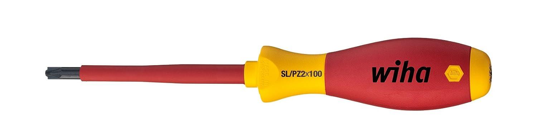 SL//PH1 x 80 mm  VDE gepr/üft Wiha Schraubendreher SoftFinish/® electric PlusMinus//Phillips ergonomischer Griff f/ür kraftvolles Drehen 30716 Allrounder f/ür Elektriker st/ückgepr/üft