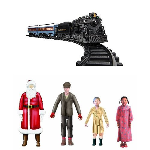 Lionel Polar Express Ready to Play Train Set with Lionel Polar Express Add On Figures