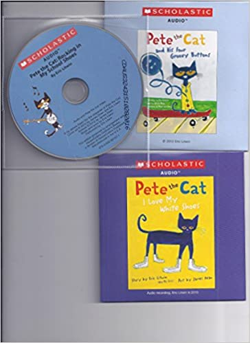 Pete the Cat Audio CD Pack : Includes 3 Audio CDs : Pete the Cat and His Four Groovy Buttons CD / Pete the Cat: I Love My White Shoes CD /