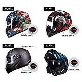 2Pcs Motorcycle Flip Up Full Face Helmet Windshield Lens Screen Shield Lock Kit For LS2 FF358 FF396 FF370 FF386 FF394 Ff385 387